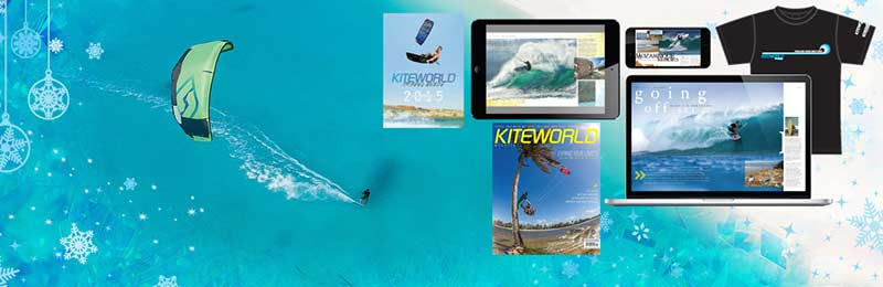 Kiteworld kitesurfing magazine subscription offers and products