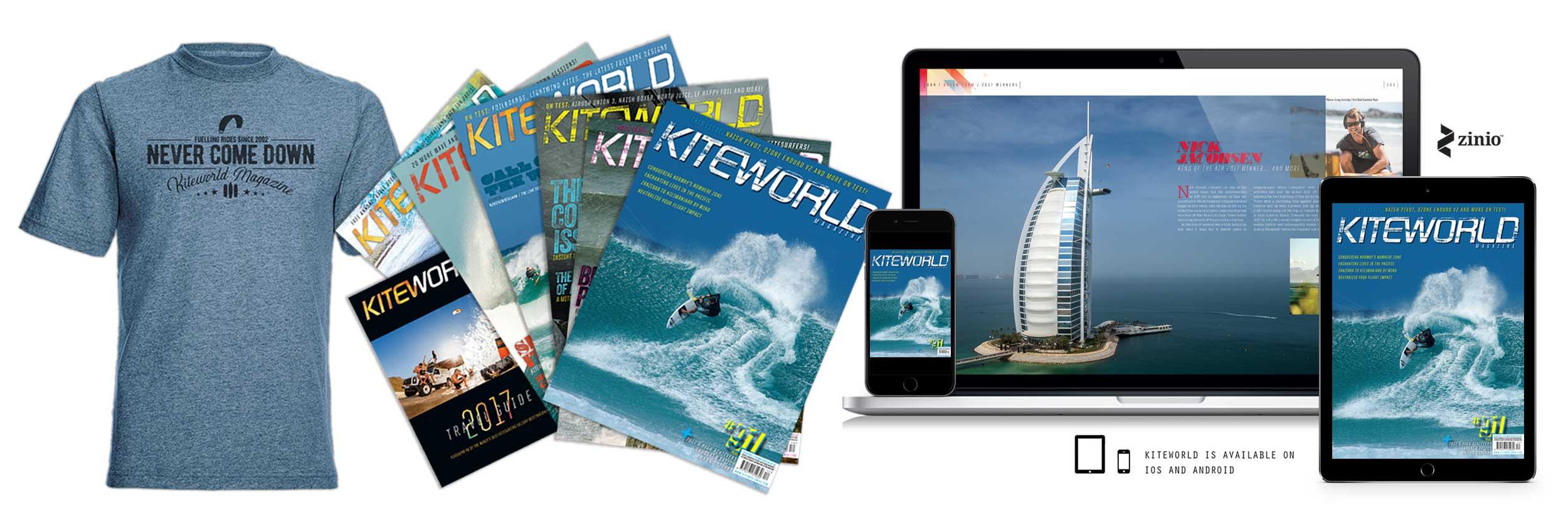 Kiteworld Magazine - Why Subscribe?!
