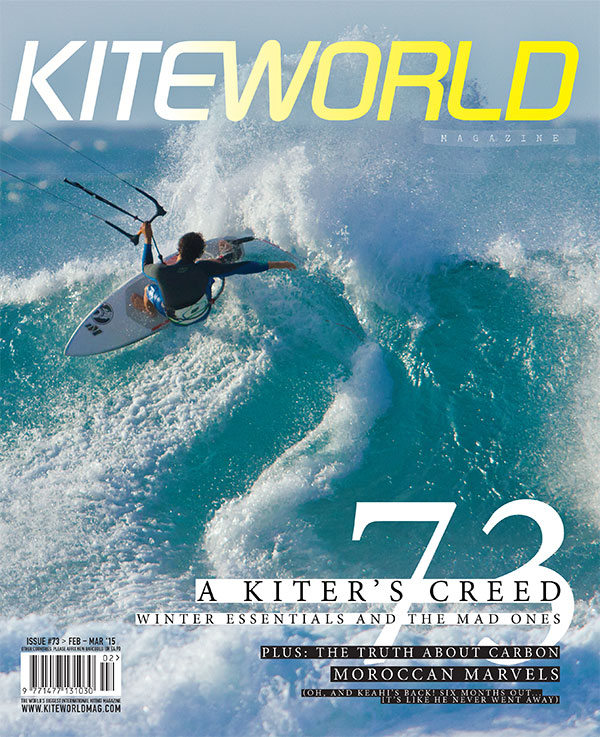 Kiteworld issue 73 front cover