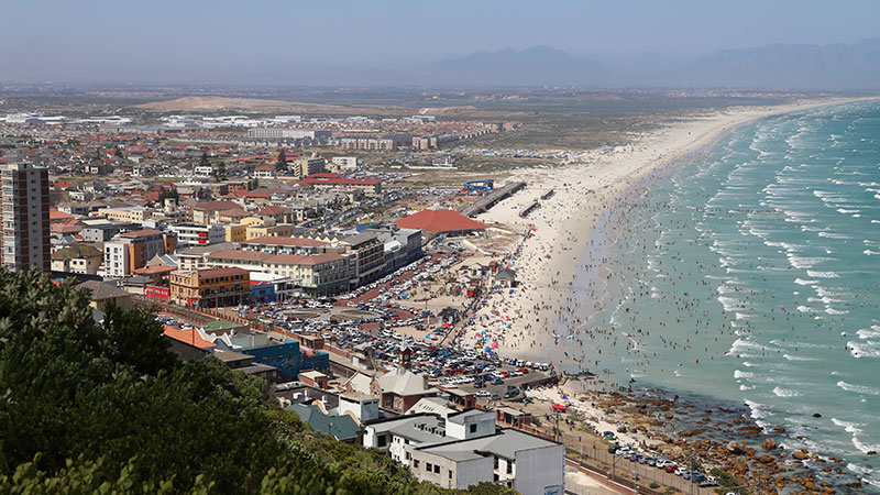 Muizenberg - Cape Town, South Africa Kiteworld Magazine 2016