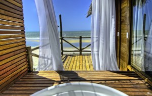 The view from your private jacuzzi