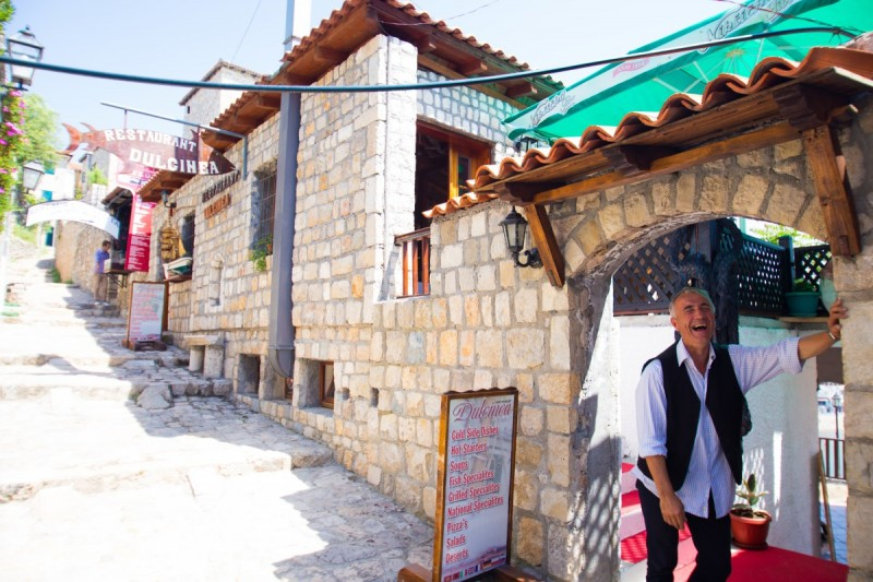 Friendly locals Montenegro