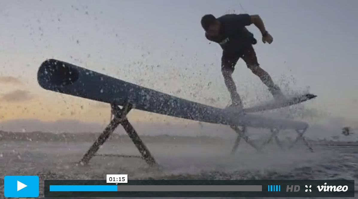 Craig Cunningham Makulo kitesurfer profile in Brazil