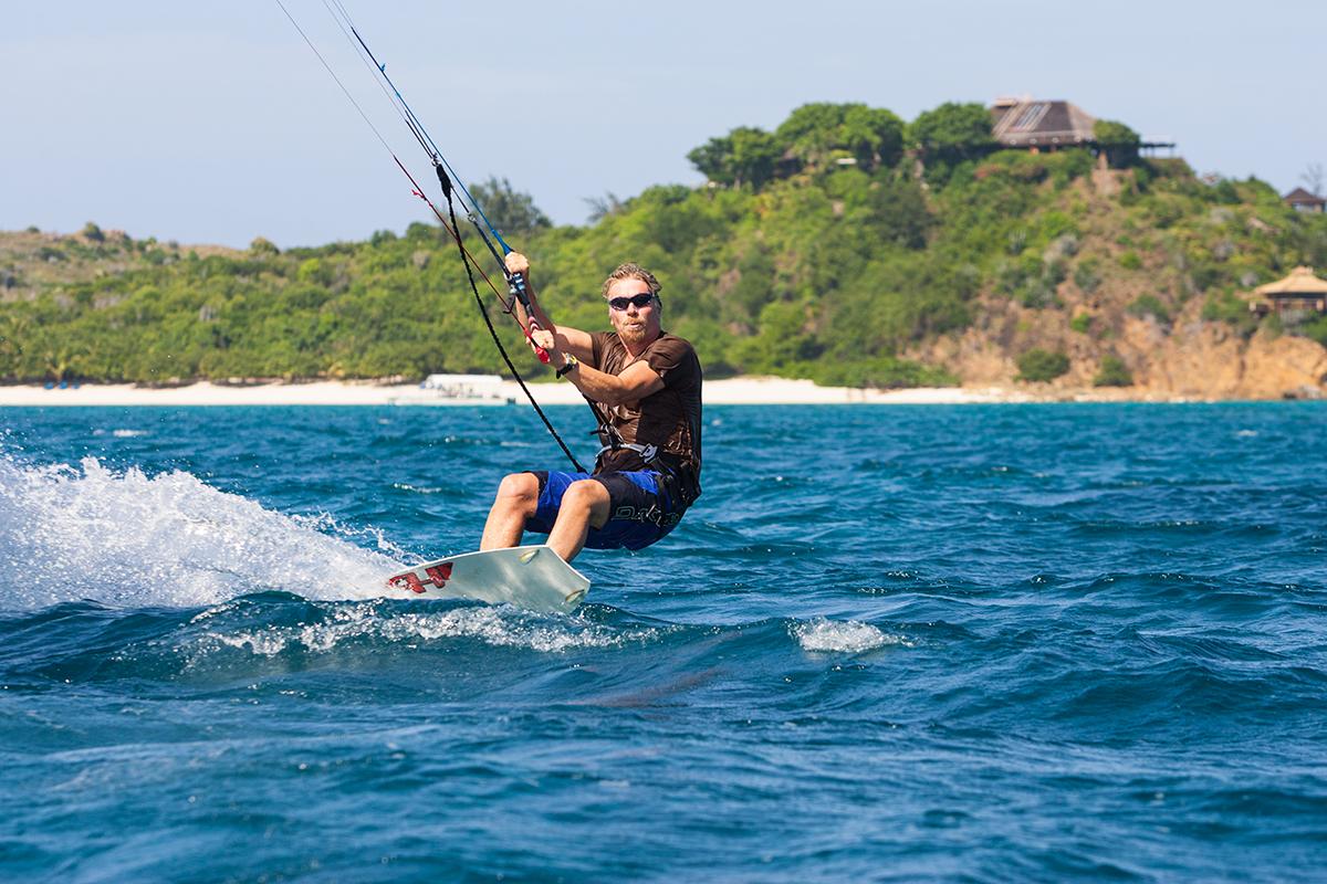 British Virgin Islands Kitesurfing