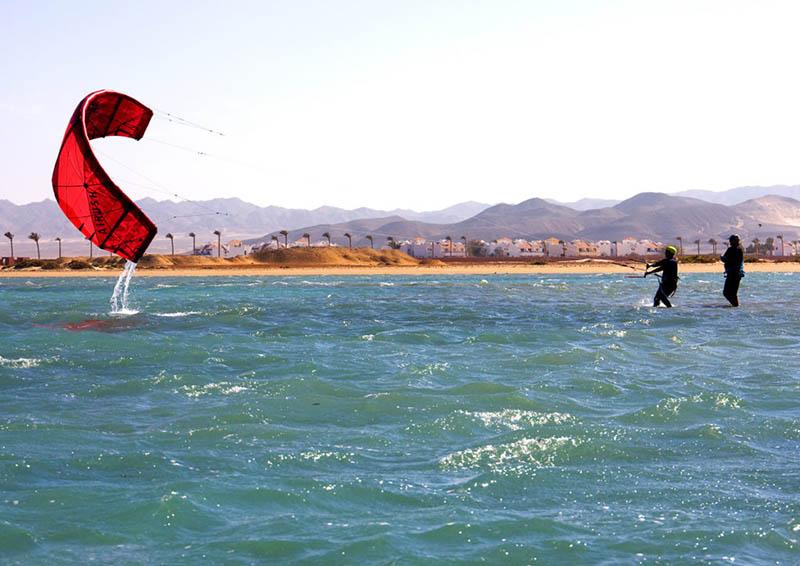 Kite Lessons Wadi Lahami