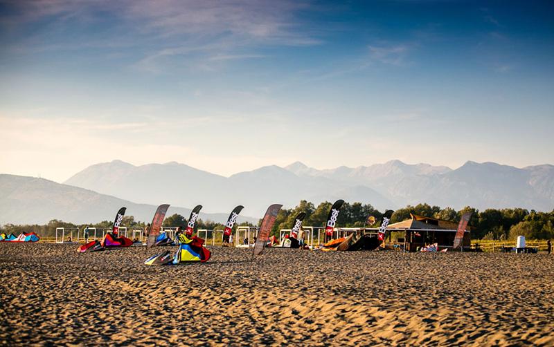 Kitesurfing Ulcinj Montenegro kite beach