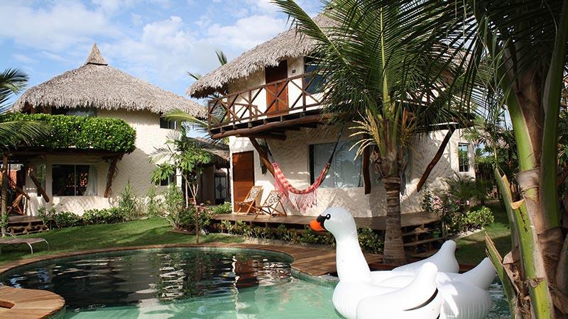 Pool at Vilarejo - Brazil Kiteworld Magazine
