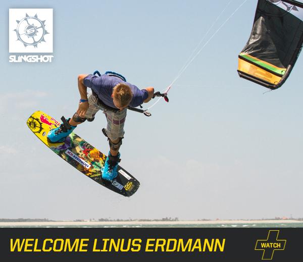Linus Erdman German kitesurfer for Slingshot