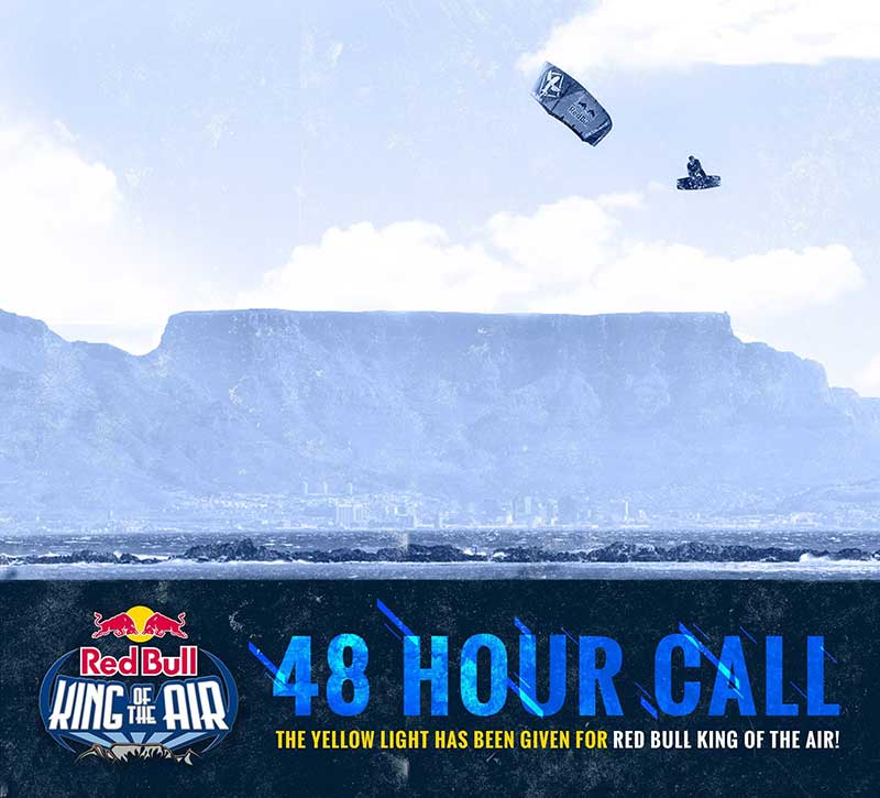 Red Bull King of the Air 48 hour warning