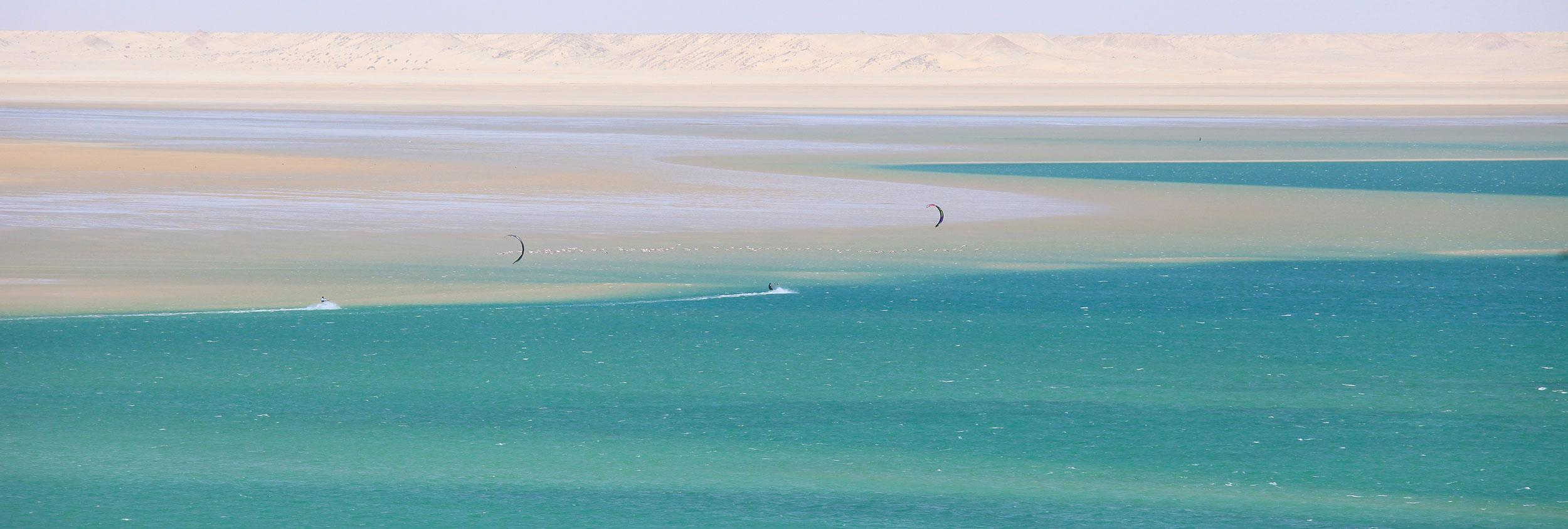 Kitesurfing Speed Spot, Dakhla Morocco by Club Mistral