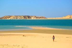 The Dakhla Lagoon in Morocco at Explora camp