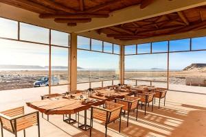 Dining room at KiteWorldWide in Dakhla