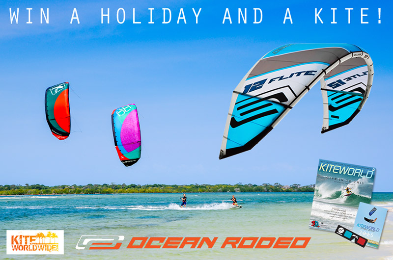 KIteworld subscriber draw kiteworldwide and ocean rodeo
