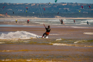 Kiters in action by Gustykite