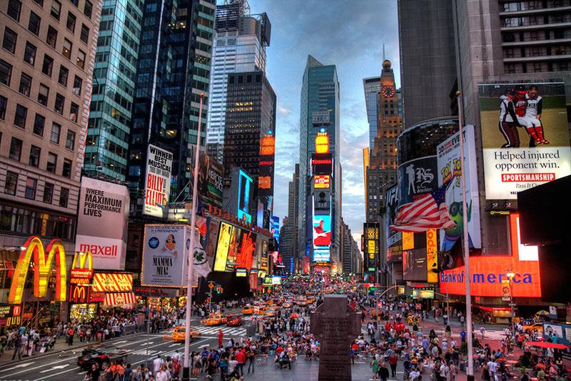NY Times Square Kiteworld Travel
