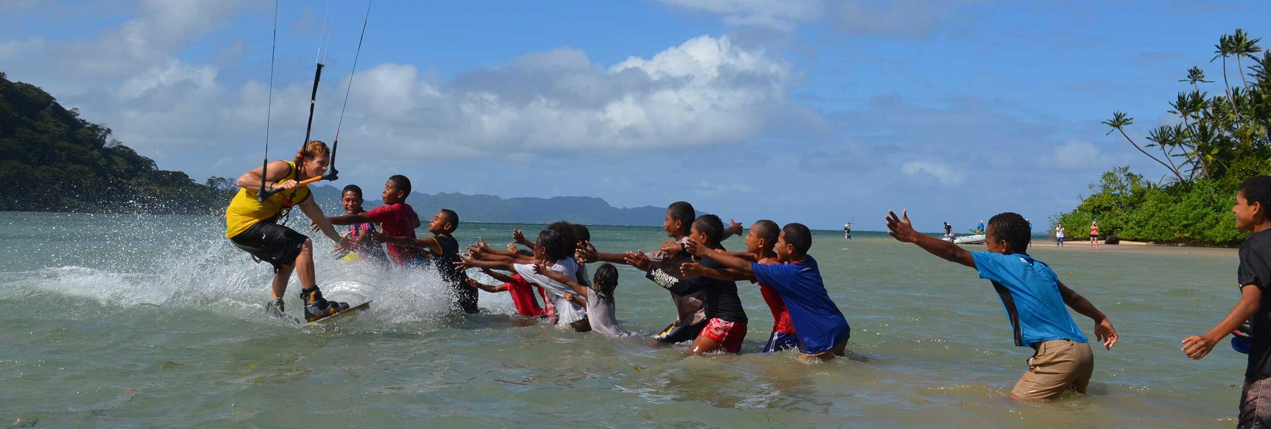 Taveuni Island Fiji Kiteworld travel kitesurfing