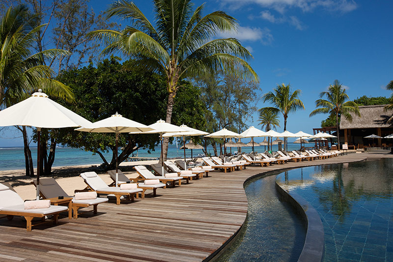 Outrigger Mauritius Bel Ombre pool view kiteworld travel