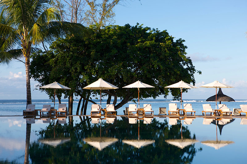 Outrigger Mauritius pool view kiteworld travel