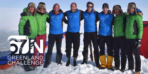 67 N Greenland Challenge team