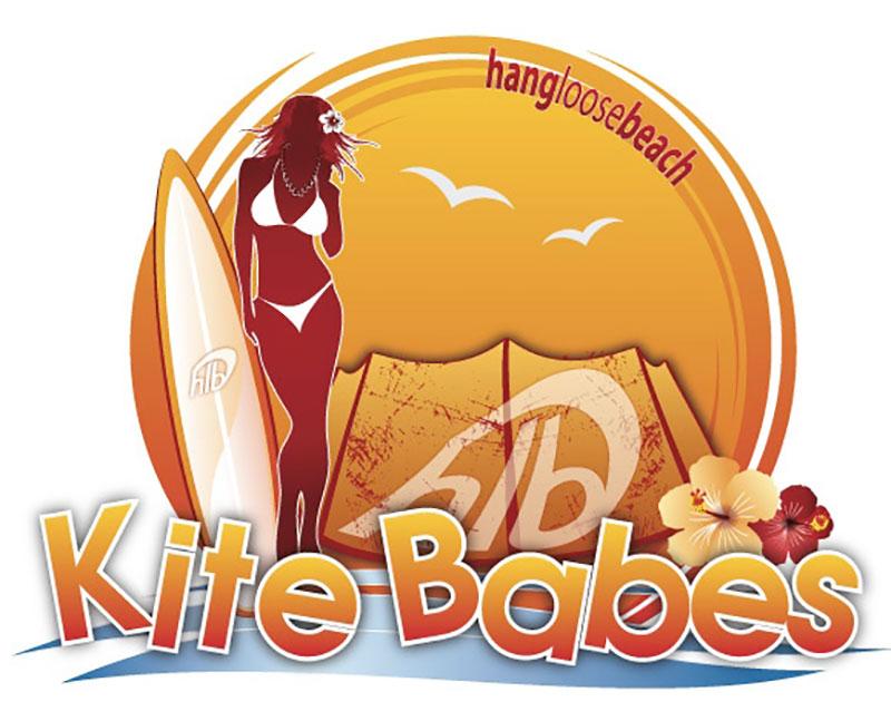 Kite Babes girls kite camp Hang Loose Beach kitesurfing kiteworld