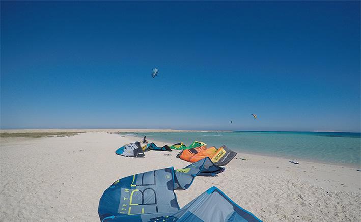 Kitesurfing El Gouna, Egypt