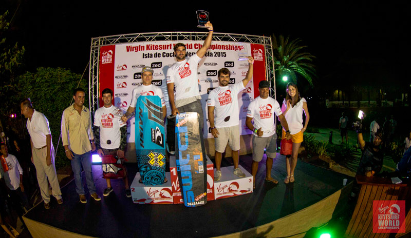 VKWC Venezuela Men's Big Air Podium
