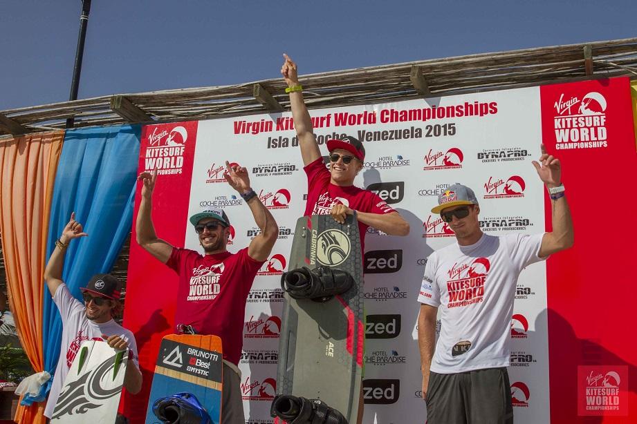 VKWC Venezuela Men's Kitesurf Freestyle results
