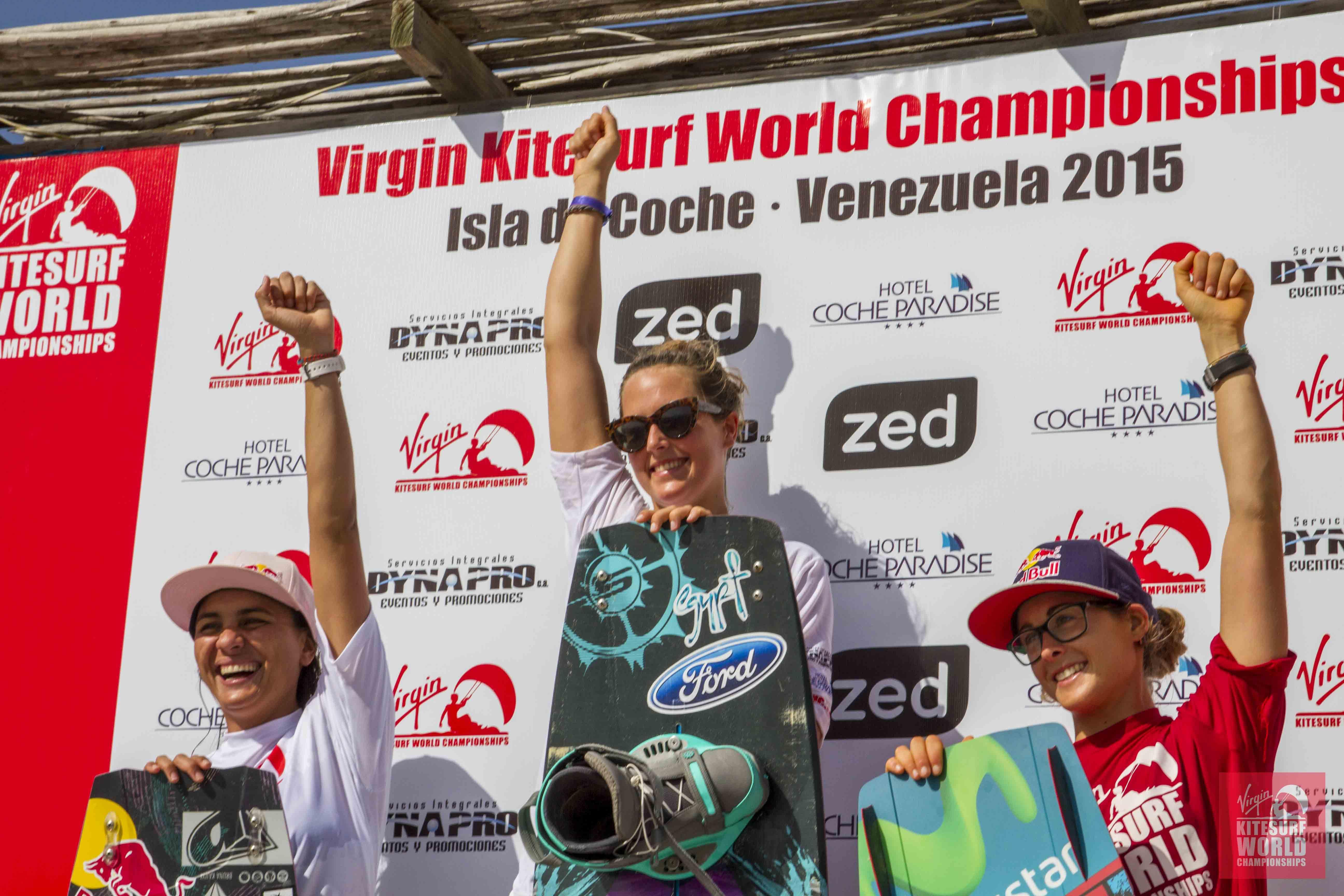 VKWC Venezuela Women's Freestyle Kitesurf Results