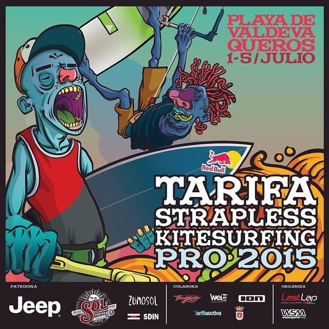 Tarifa Strapless Kitesurfing Pro 2015 kitesurfing news kiteworld magazine