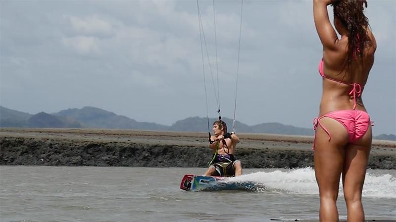 Chris Bobryk Nitro City getting dirty kitesurfing videos kiteworld magazine