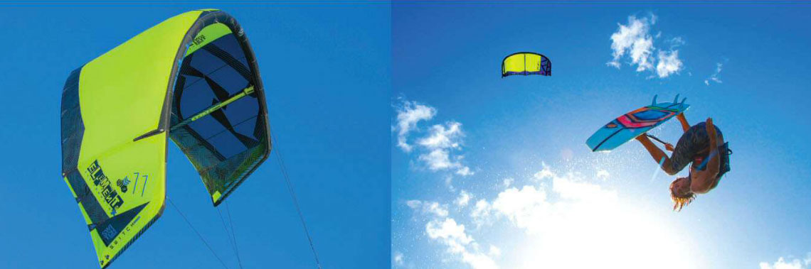 Win a Switch Element kite in Kiteworld issue 77 magazine subscriber competition