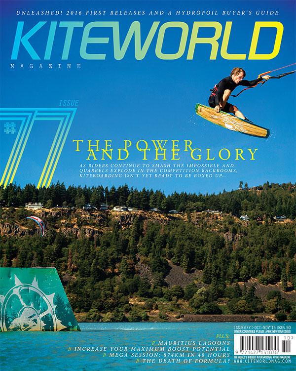 Kiteworld issue 77 magazine cover