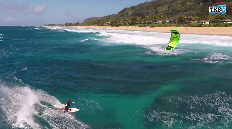 James Boulding's future of filming kiteboarding action