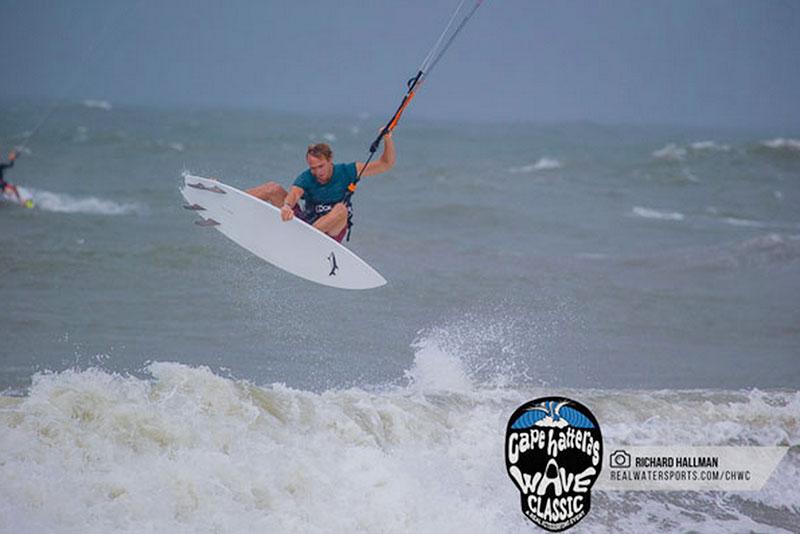 Cape Hatteras wave classic 2015 strapless kitesurfing contest
