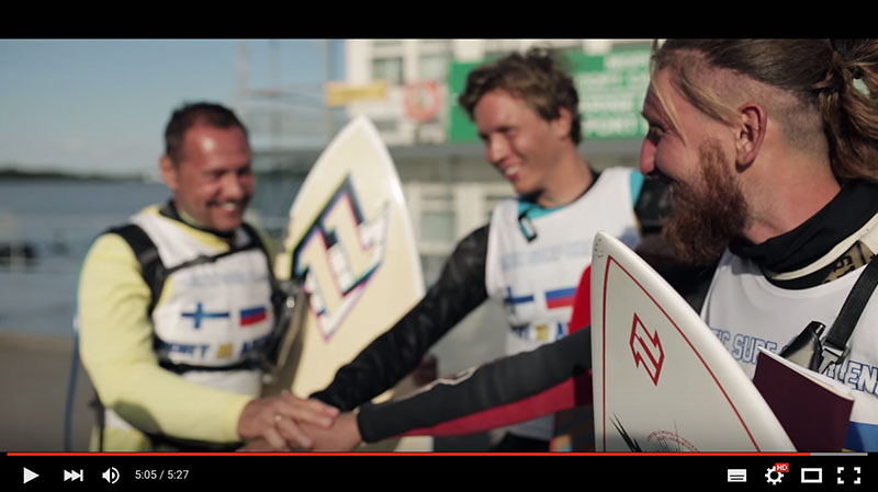 World crossing record from Helsinki to St Petersburg, Russia
