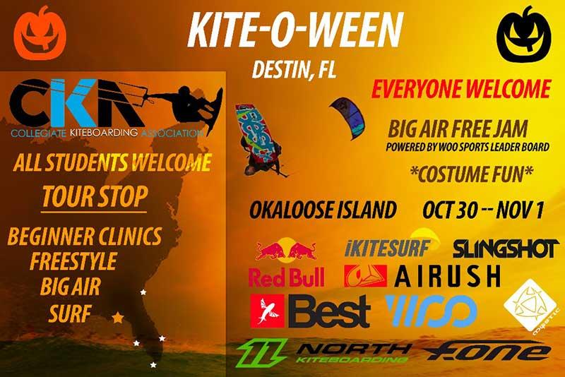 College Kiteboarding Association Kite-O-Ween