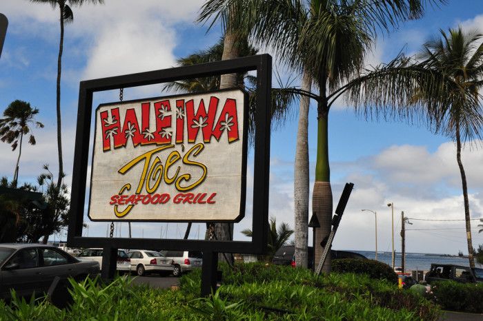 Haleiwa Joe's restaurant Oahu, Hawaii