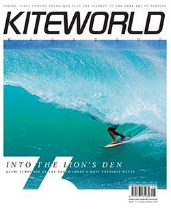 Kiteworld issue 76 kitesurfing magazine cover