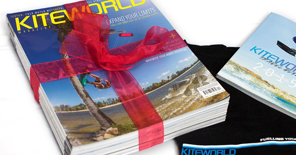 Kiteworld magazine Christmas gift subscription