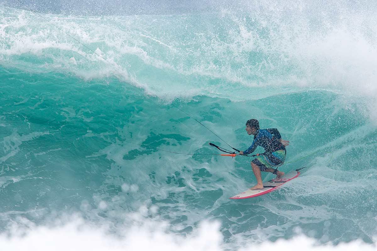 Keahi de Aboitiz at Off The Wall in Hawaii