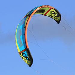 Liquid Force Envy kite test 2015