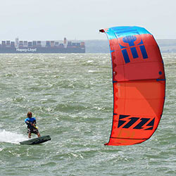 North Dice 2015 kite test