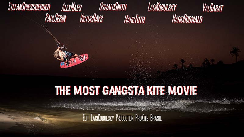ProKite Brasil Gangsta Kite Movie Kiteworld Magazine