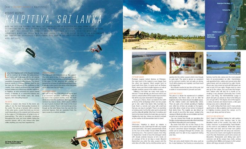 Kitesurfing Resort Report Kalpitiya Sri Lanka