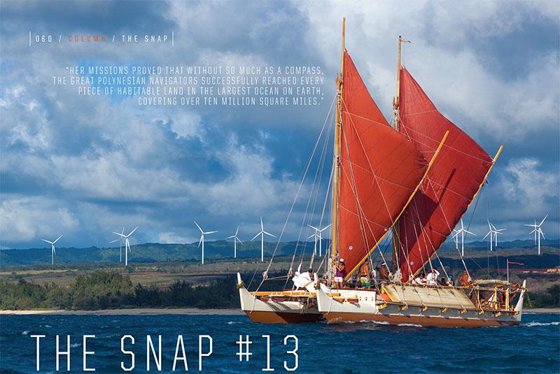 John Bilderback The Snap Holkuleia issue 79
