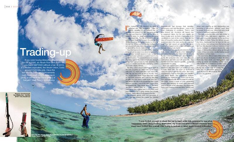 Trading Up kitesurfing equipment buyers guide