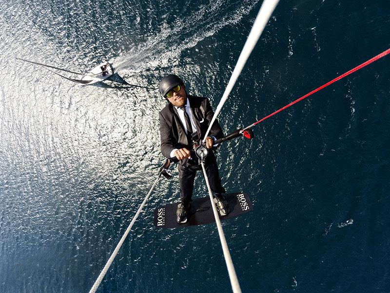 Alex Thomson Skywalk kitesurfing