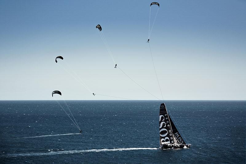 Alex Thomson Skywalk kitesurfing morph