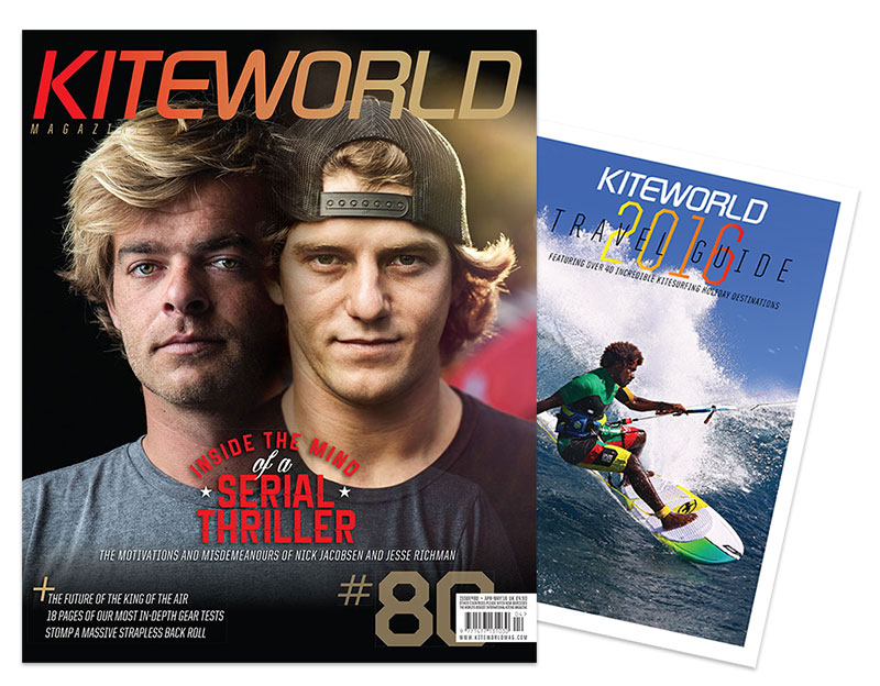 Kiteworld 80 and Travel Guide 2016