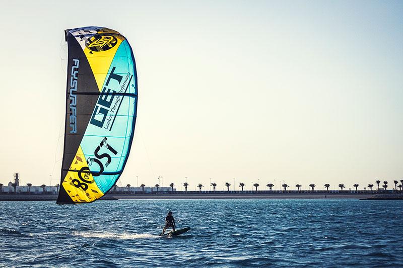 Anke Brandt world record kitesurfing Bahrain
